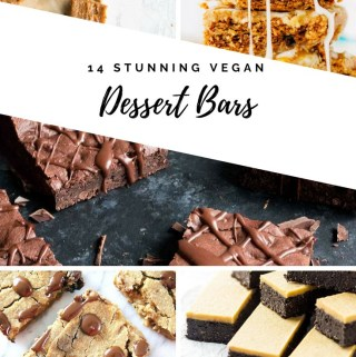 14 Stunning Vegan Dessert Bars | Vegan Recipe |