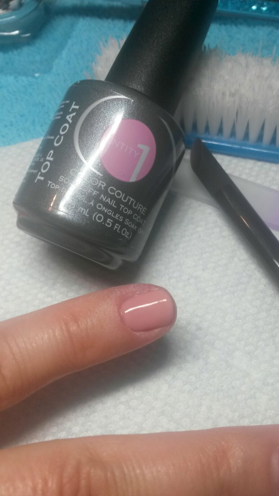 Eny Top Coat Follow The Steps Above To Create Professional Gel Nail