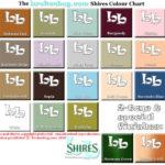 Shires Bathroom colourchart