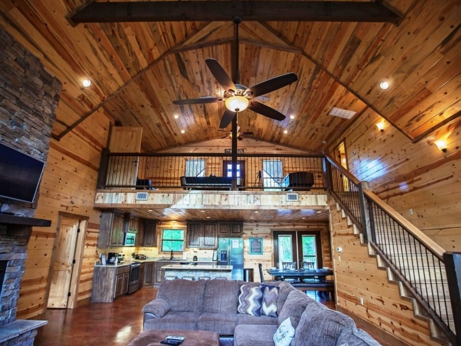 Broken Bow Vacation Cabins  Dream Big  4 Bedroom35