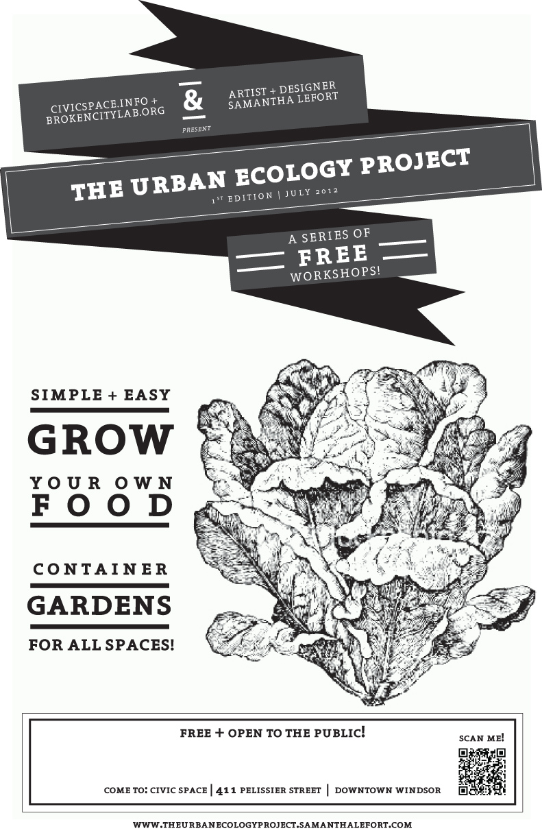 Urban Ecology Workshops at CIVIC SPACE with Sam Lefort