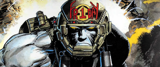 Dave Gibbons's War Machine: A Rogue Trooper Hit or Misfire?