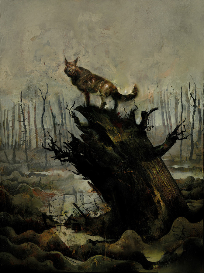 Dave McKean Pays Tribute to Surrealist War Artist with a New Graphic Novel and Performance Piece, 'Black Dog: The Dreams of Paul Nash'
