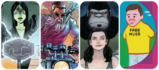 Staff Picks for January 18, 2017 - Zonzo, Curse Words, Motor Girl and More!