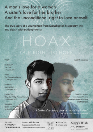 HOAX Our Right to Hope - Ravi Thornton Talks About Tackling Stigma Around Mental Health Issues Via the Cross-Media HOAX Project