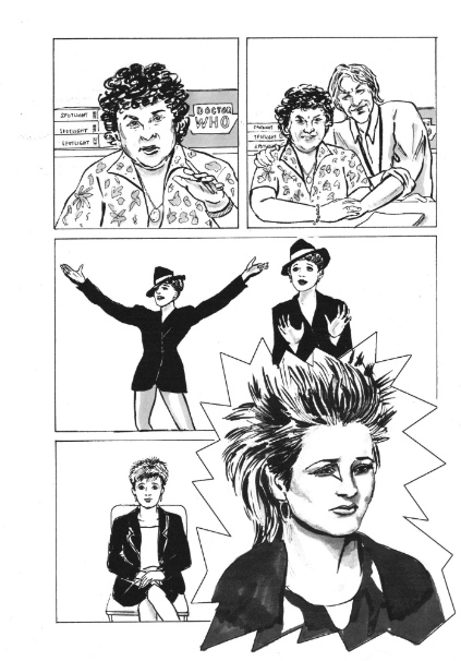 """""""I'm Switching the Mute Button on Self-Doubt"""" - Jessica Martin on Crowdfunding Her Graphic Memoir 'Life Drawing: A Life Under Lights'"""