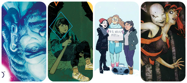 Staff Picks for November 22, 2017 - Giant Days 2017 Holiday Special, Winnebago Graveyard, Forlorn Funnies and More!