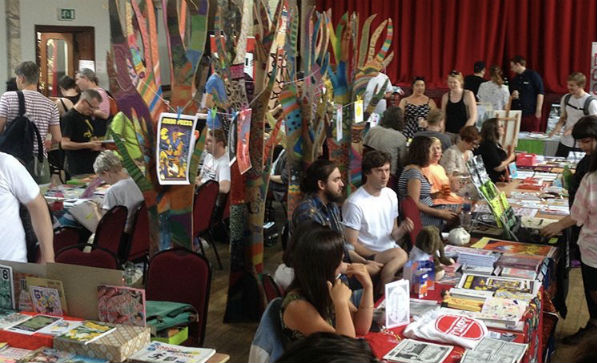 A View from the Frontier - Tales from the Communal Table at the South London Comic and Zine Fair