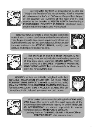 Crimewatch Milky Way - Paul Hatcher Introduces Us to the Galaxy's Greatest Criminals in this Graphic Narrative Card Set