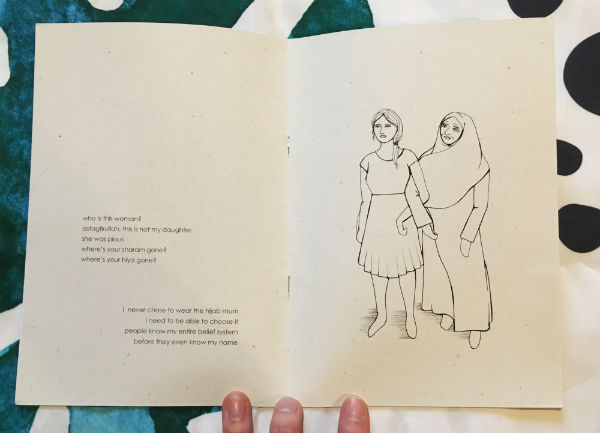 Motherhood - Sabba Khan Explores Identity, Belonging and the Mother-Daughter Relationship in a Beautifully Structured Graphic Poem