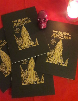 The Blade of Arozone - J. Edward Scott Fuses Sword and Sorcery and Dystopian Science Fantasy in an Intricately Rendered Minicomic