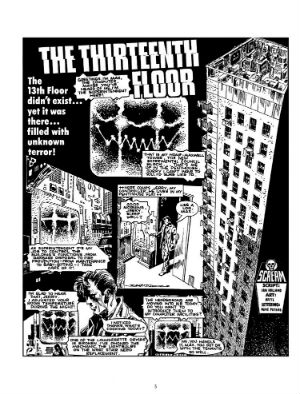The Thirteenth Floor Vol. 1 -The Treasury of British Comics Takes Us Back to a Horror Comics Cult Classic from the Pages of 'Scream!'