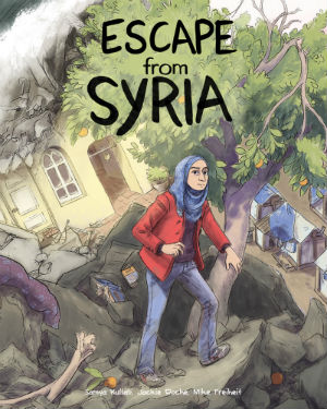 Escape from Syria - Samya Kullab, Jackie Roche and Mike Freiheit Explore the Refugee Crisis for a Younger Readership