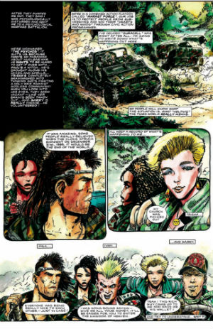 Preview: Third World War - Rebellion Announce Limited Hardcover Edition of Mills, Ezquerra, Kincaid and D'Israeli's Hard-Hitting Socio-Political Series