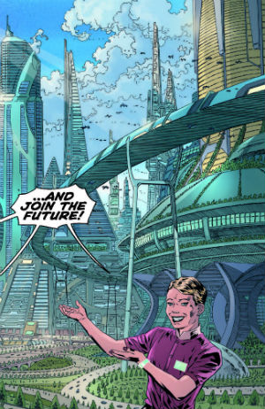 Join the Future #1 - An Intriguing Look Forward and Backwards in Genre Time and Space that Might Say Something True about the Here and Now
