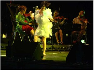 Bjork Live in Coney Island 08/23/2003