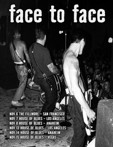Face To Face is back...but for how long???