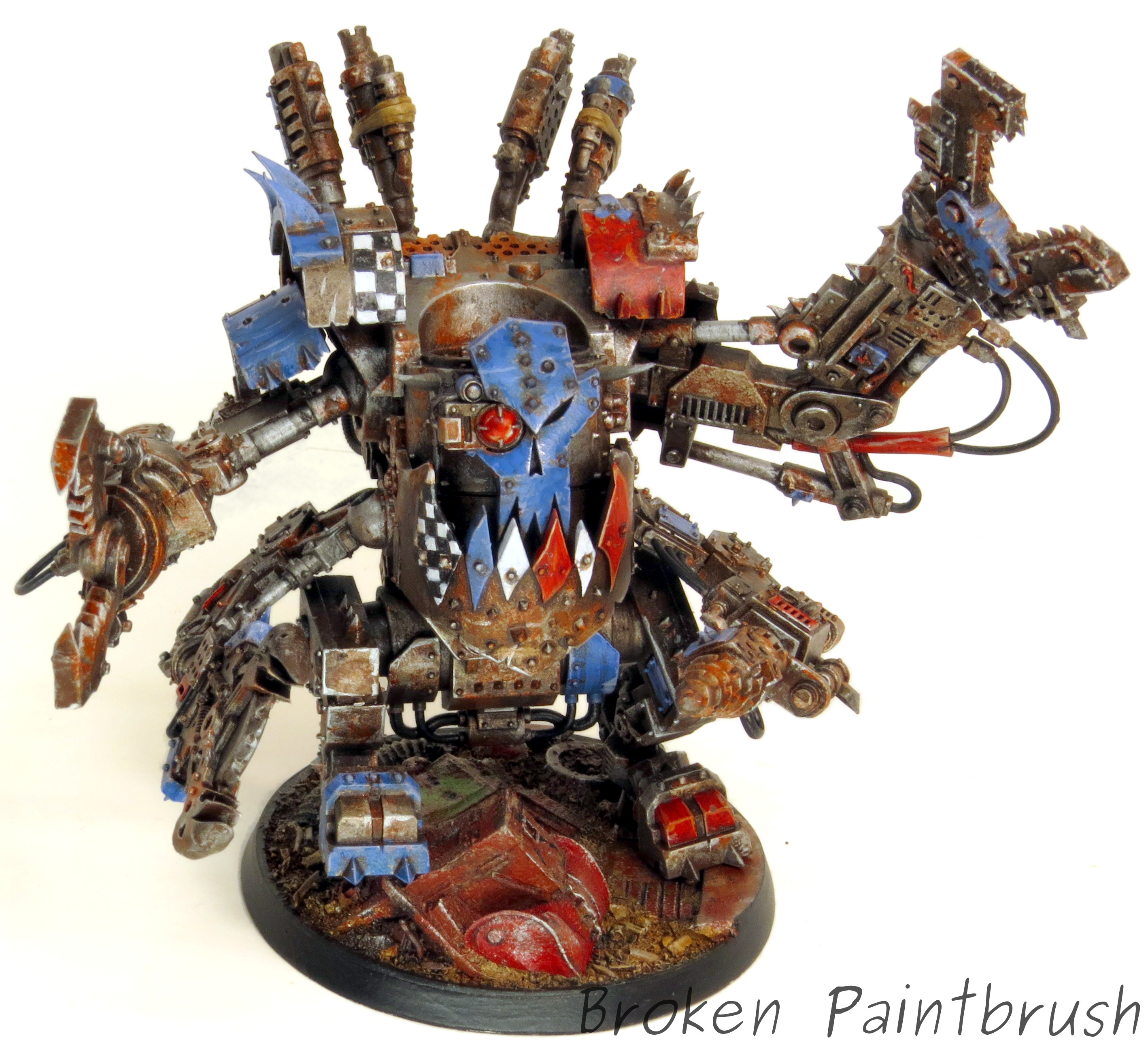 Ork Deffdread For The Deffskullz