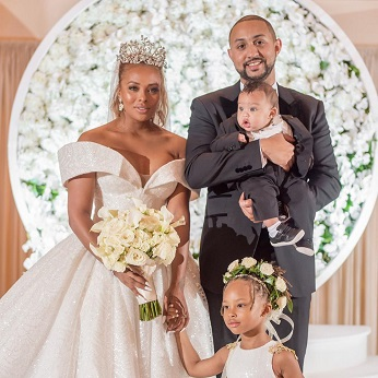 Kenya Moore Wedding.Watch Rhoa S Eva Marcille Michael Sterling Give You A Peek Inside