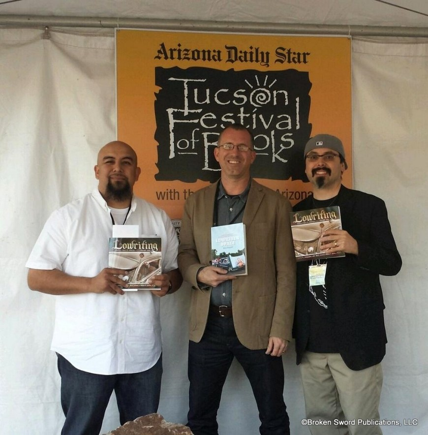 Lowriting in Tucson, 2014