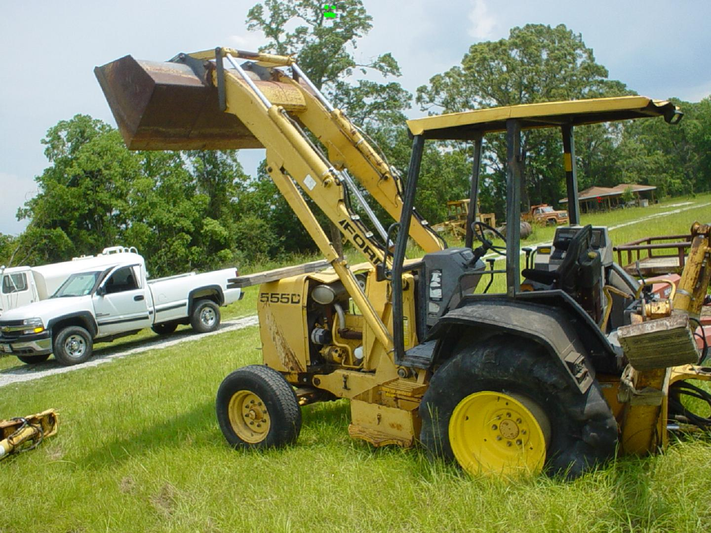 hight resolution of ford 555d backhoe