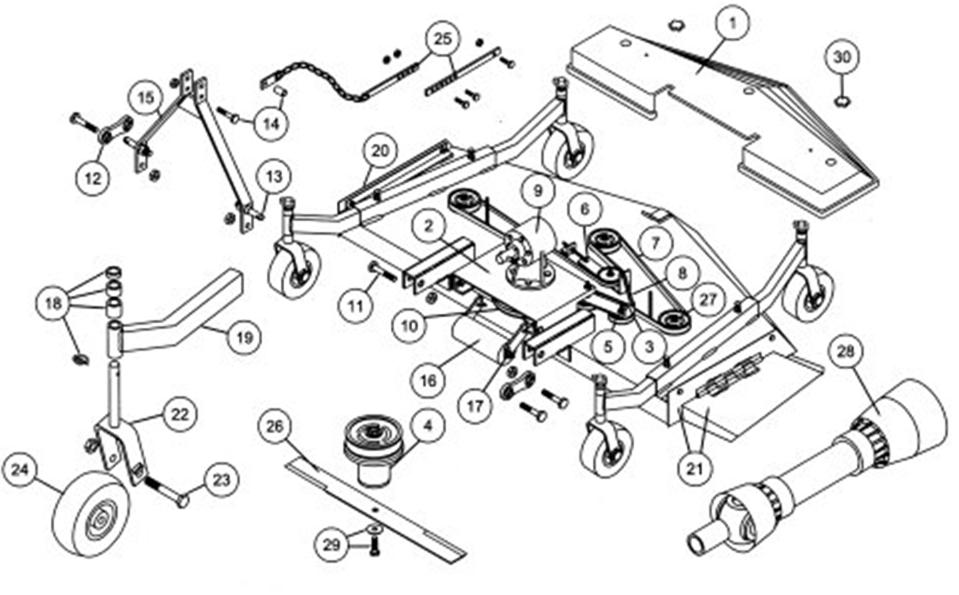 king kutter tiller parts diagram of teeth and their numbers 5 ft finish mower belt - product wiring diagrams