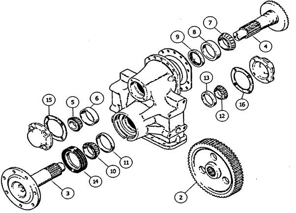 Case 650 and 850 Series Dozer Final Drive Parts