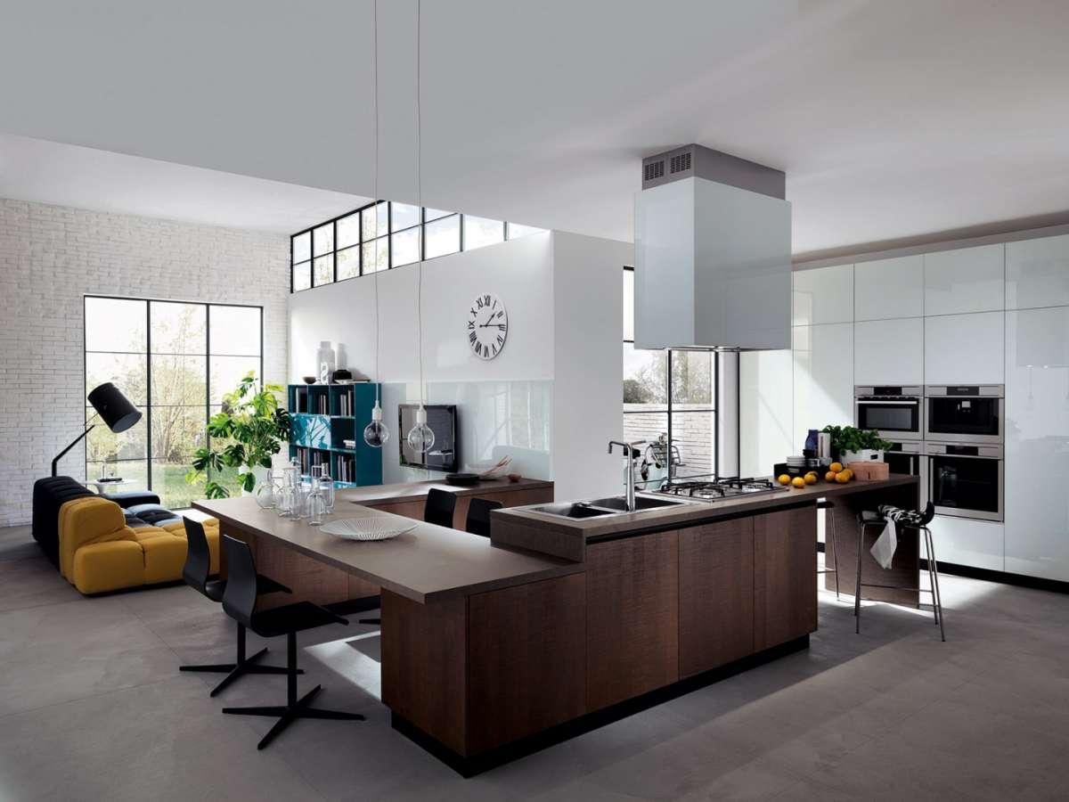 L'open space è uno spazio senza pareti divisorie tra gli ambienti della zona living. Cucina E Soggiorno Open Space Come Creare Il Tuo Living Personalizzato Brokey