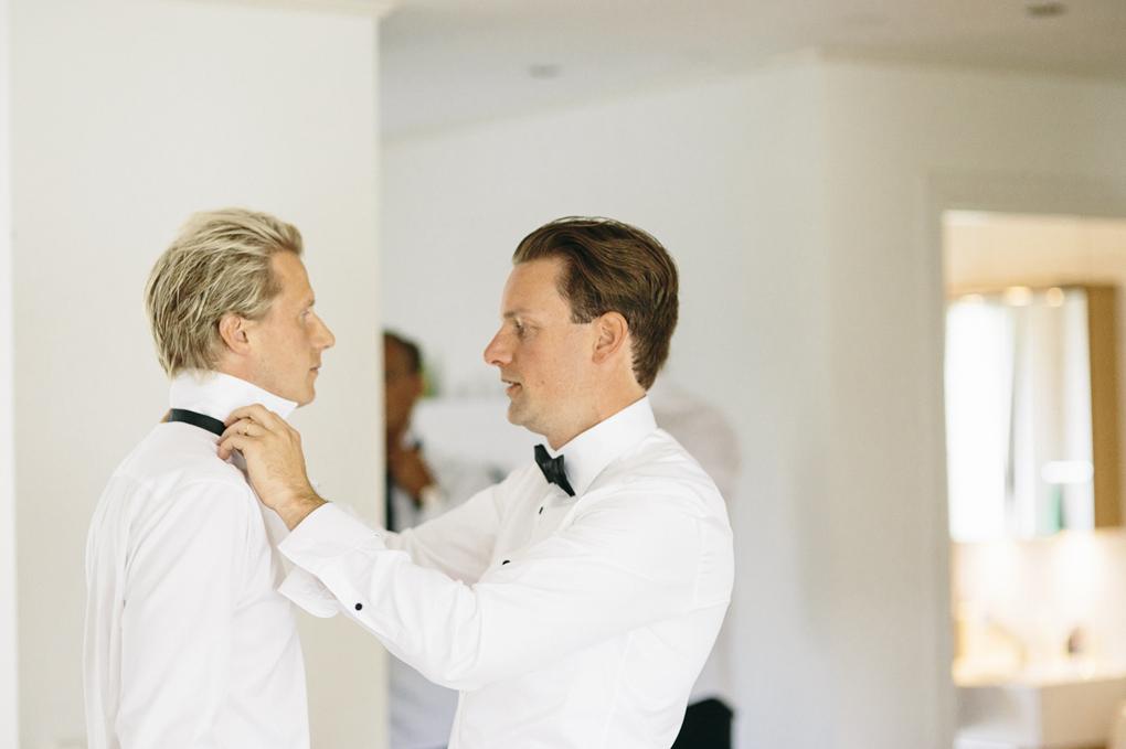 bröllop kinna förberedelse