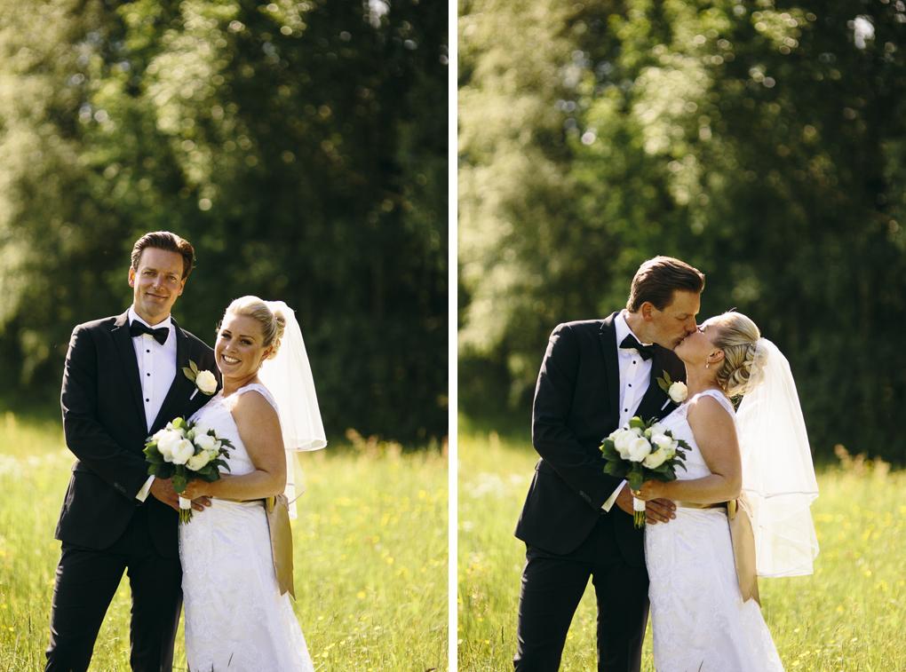 bröllop kinna porträtt