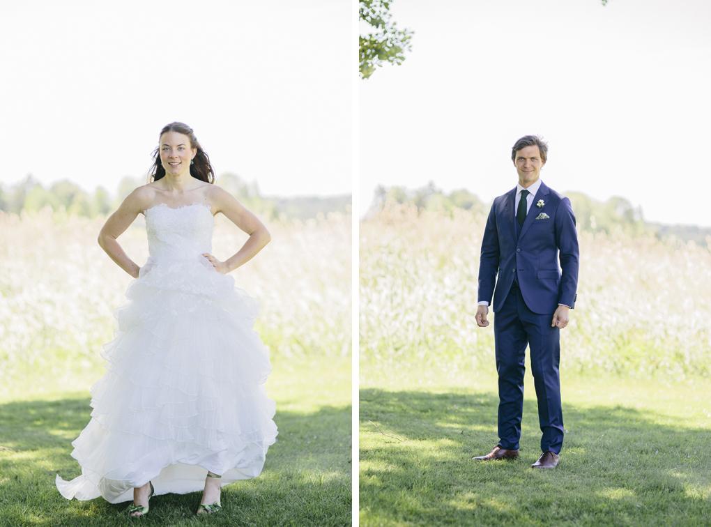 bröllop trollhättan prässebo porträtt sjö träd