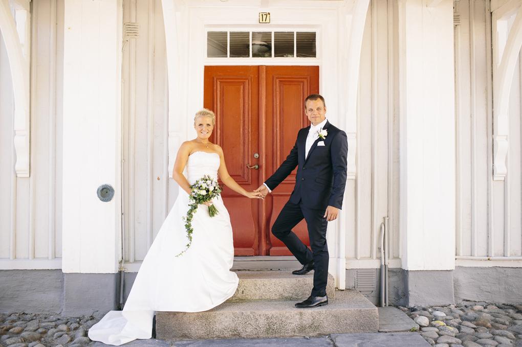 bröllop, marstrand, porträtt