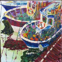 Boulogne fishing boats