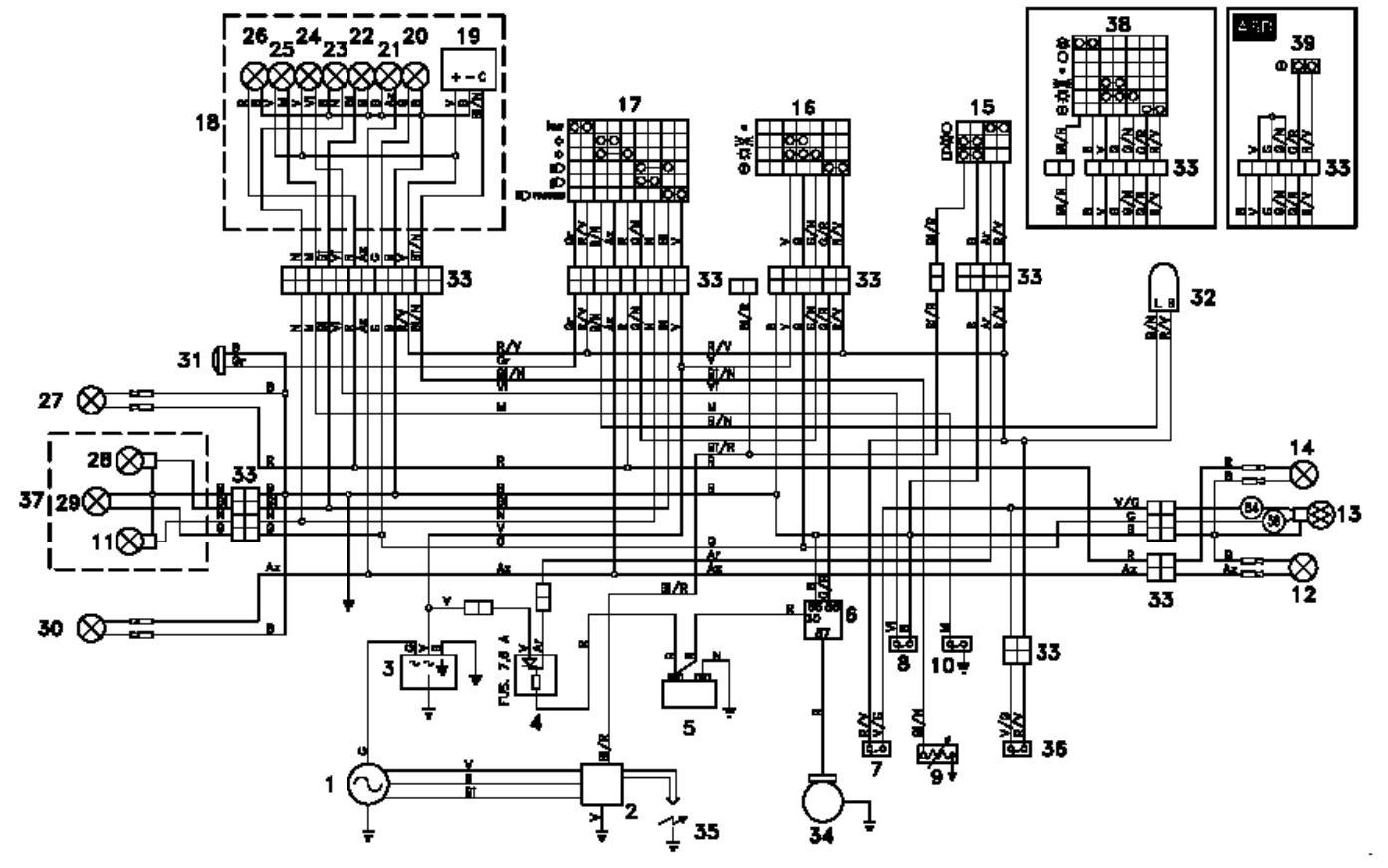 Schema Elettrico Aprilia Sr 50: Modifica impianto