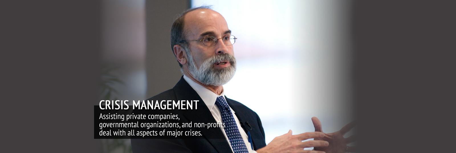 Slide 1 – Crisis Management
