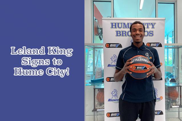 Leland king big v basketball Hume City broncos