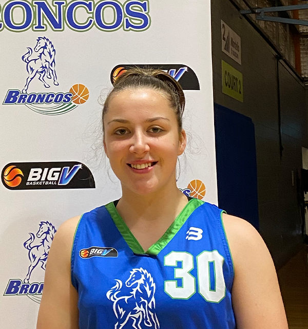 big v Hume City broncos jayde kirk
