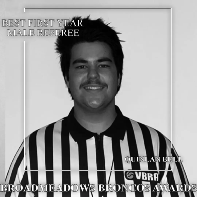 Broadmeadows broncos junior awards referee best first year