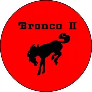 Bronco II Tire Cover Red