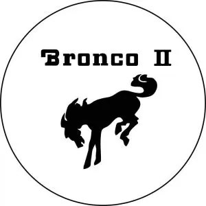 Bronco II Tire Cover White