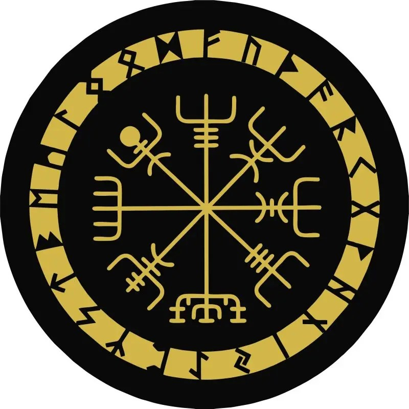 Viking Compass Tire Cover