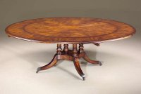 Theodore Alexander Regency Circular Extending Dining Table ...