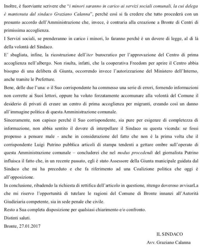 lettera 2 pag