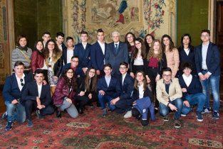 """ROMA: 25 STUDENTI DEL """"RADICE"""" RICEVUTI DAL PRESIDENTE MATTARELLA – LA FOTO"""