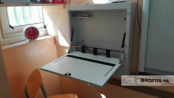 BRONTE: RUBATI 7 PC E DUE STEREO  A SCUOLA- LE FOTO
