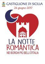 """CASTIGLIONE DI SICILIA – E' SCOCCATA L'ORA DELLA """"NOTTE ROMANTICA"""""""