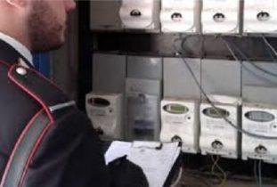 MANIACE,  RUBA ENERGIA ELETTRICA: DENUNCIATO