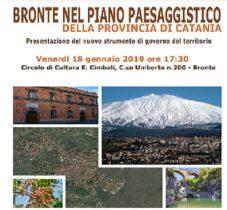 BRONTE: CONVENTION SUL PIANO PAESAGGISTICO «TROPPI DUBBI»