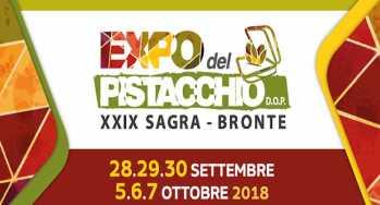 BRONTE: EXPO DEL PISTACCHIO 2019 ALL'INSEGNA DELLA SICUREZZA
