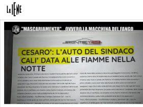 """BRONTE 118 IN ONDA SU ITALIA 1 A """"LE IENE"""""""
